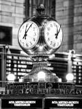 Grand Central Terminal's Four-Sided Seth Thomas Clock - Manhattan - New York Reproduction photographique par Philippe Hugonnard