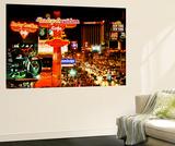 Wall Mural - The Strip - Las Vegas at Night - Nevada - USA Seinämaalaus tekijänä Philippe Hugonnard
