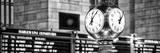 Panoramic View - Grand Central Terminal's Four-Sided Seth Thomas Clock - Manhattan - New York Fotografie-Druck von Philippe Hugonnard