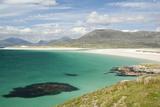 Bay in Sound of Taransay, Harris, Outer Hebrides Fotografisk tryk
