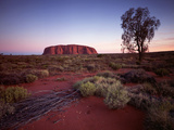 Ayers Rock, Uluru at Sunset Fotografie-Druck