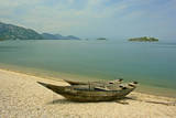 Fishing Boats at Murici Beach, Lake Skadar Photographic Print