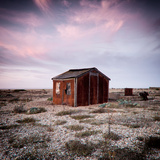 Old Fishermans Shed on Beach Photographic Print by Craig Roberts
