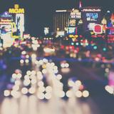 Las Vegas Fotografie-Druck von Laura Evans