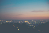 Sunset on Mulholland Drive Photographic Print by Laura Evans