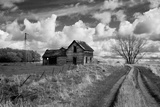 Derelict Barn in Usa Photographic Print by Rip Smith