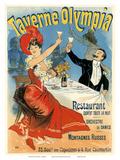 Taverne Olympia Art Nouveau, La Belle Époque Posters por Jules Chéret