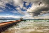 Parasailing, Ilica Beach, Cesme, Turkey Reproduction photographique par Nejdet Duzen