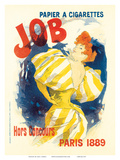 Job Paris, Art Nouveau, La Belle Époque Prints by Jules Chéret