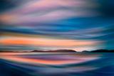 Coastlines (In Blue) Reproduction photographique par Ursula Abresch