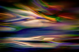 Blue Lagoon in the Evening Fotografie-Druck von Ursula Abresch