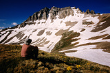 Gilpin Paek from Yankee Boy Basin on Blue Lakes Trail, San Juan Mountains, Colorado, United States Photographic Print by Witold Skrypczak