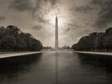 The Washington Monument and Reflecting Pool Photographic Print by Dana Neibert