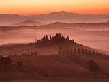 Tuscany Morning Fotografisk trykk av Paolo Corsetti
