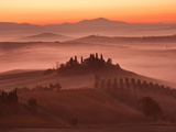 Tuscany Morning Photographic Print by Paolo Corsetti