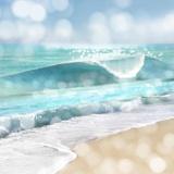 Ocean Reflections I Plakat af Kate Carrigan