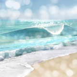 Ocean Reflections I Poster por Kate Carrigan