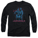Long Sleeve: Airwolf - Graphic Long Sleeves
