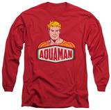 Long Sleeve: Aquaman - Aquaman Sign Long Sleeves