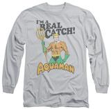 Long Sleeve: Aquaman - Real Catch Long Sleeves