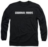 Long Sleeve: Criminal Minds - Logo Long Sleeves