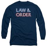 Long Sleeve: Law & Order - Logo Long Sleeves