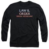 Long Sleeve: Law & Order: SVU - Logo Long Sleeves