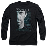 Long Sleeve: House - Houseisms Long Sleeves