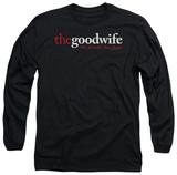 Long Sleeve: The Good Wife - Logo Long Sleeves