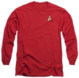 Long Sleeve: Star Trek - Engineering Uniform Long Sleeves