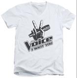 The Voice - One Color Logo V-Neck V-Necks
