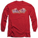 Long Sleeve: Woody Woodpecker - Sketchy Bird Long Sleeves