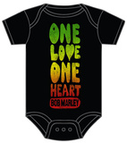 Infant: Bob Marley - One Love Creeper ロンパース