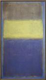 No. 2/No. 30  (Yellow Center) Posters by Mark Rothko