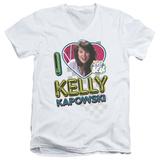 Saved By The Bell - I Love Kelly V-Neck V-Necks