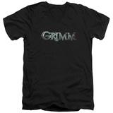 Grimm - Bloody Logo V-Neck V-Necks