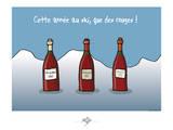 Touchouss - Cette année, que des rouges Affiches par Sylvain Bichicchi