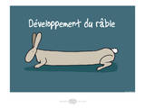 Heula. Développement du râble Póster por Sylvain Bichicchi