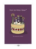 Oc'h oc'h. - Bon anniversaire breton Pósters por Sylvain Bichicchi
