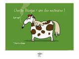 Pays B. - L'herbe basque Affiches par Sylvain Bichicchi