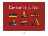 Adé l'chicon - Kamasutra du nord Pôsters por Sylvain Bichicchi