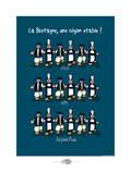 Oc'h oc'h. - Bretagne, région stable Pôsters por Sylvain Bichicchi