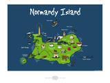 Heula. Normandy island Arte por Sylvain Bichicchi