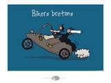 Oc'h oc'h. - Bikers bretons Arte por Sylvain Bichicchi