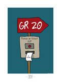 Broutch - GR 20 Art par Sylvain Bichicchi