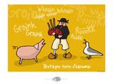 Oc'h oc'h. - Bretagne terre d'harmonie Posters par Sylvain Bichicchi