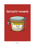 Heula. Froid de canard Poster por Sylvain Bichicchi