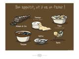 Heula. Bon appétit ! Affiches par Sylvain Bichicchi