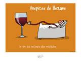 Tipe taupe - Hospice de Beaune Posters por Sylvain Bichicchi