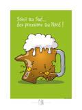 Adé l'chicon - Des pressions au nord Posters por Sylvain Bichicchi